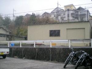 また降雪。しかもさっきよりスゴイ