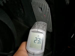 レギュレターの温度