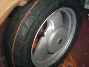 タイヤ交換完了っと