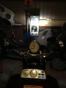 V-MAXのヘッドライトテスト