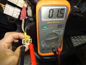 電圧が低い2