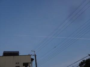 2機のジェット機