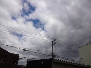 さらに雲が増えてきた