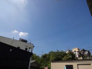 青空(蝉がうるさい)
