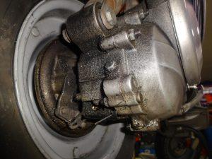 汚れたエンジン
