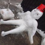 積雪の可能性があるため今日はお休みします!