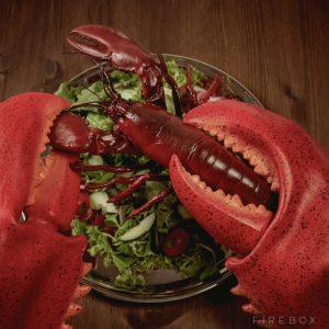 ロブスターを食す時にも