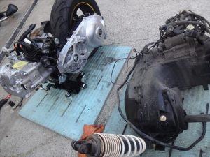 新旧のエンジン