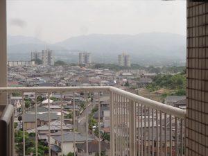 高層マンションからの眺め