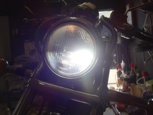 LEDヘッドライトの明るさ