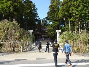 金剛峯寺に到着