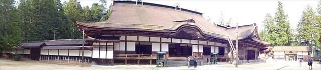 金剛峯寺全景パノラマ写真