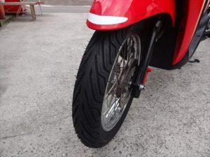 タイヤ交換作業完了!