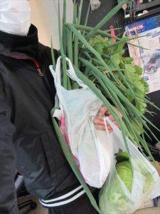 頂いたたくさんのお野菜