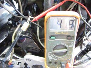 交流電圧:4,000rpm