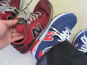 買い直した靴