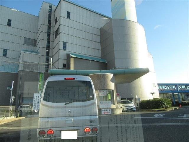 和泉市クリーンセンター正面