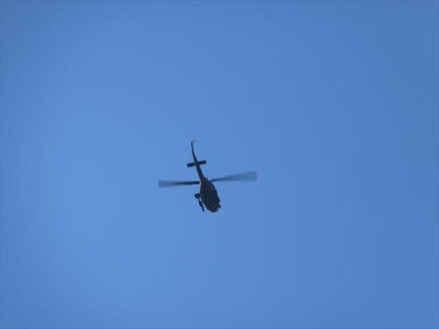 陸上自衛隊のヘリ UH-1