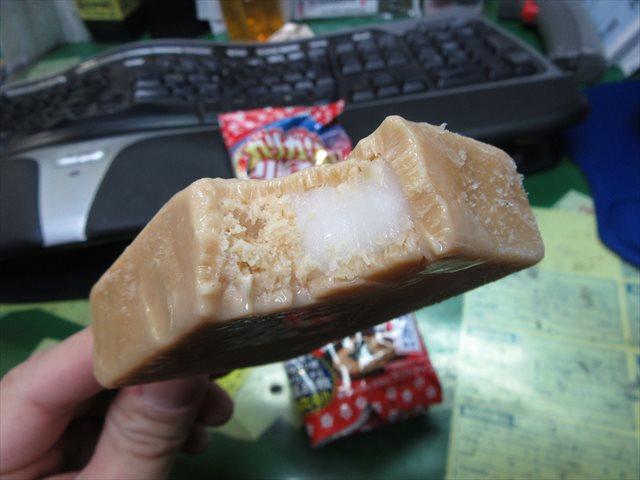 餅ときなこ味のかき氷
