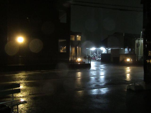 暴風雨の夜