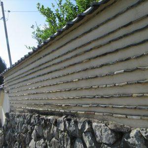 綺麗な土壁