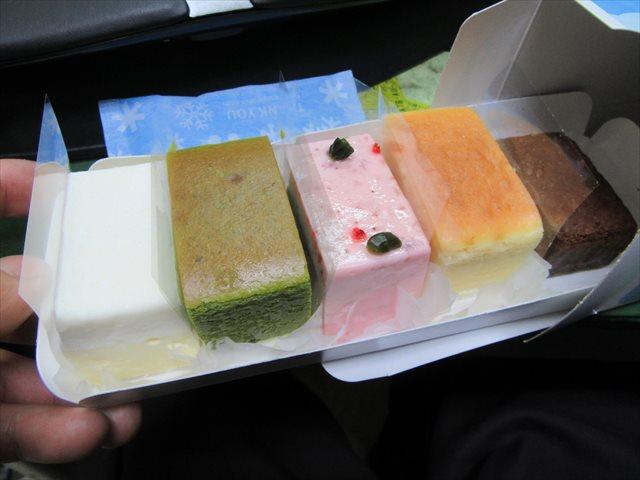 5種類のチーズケーキ